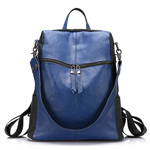cf2e09aafd4e Backpack for Women Shoulder Bag School Bag Spacious Purse Light Weight  Casual Style Blue