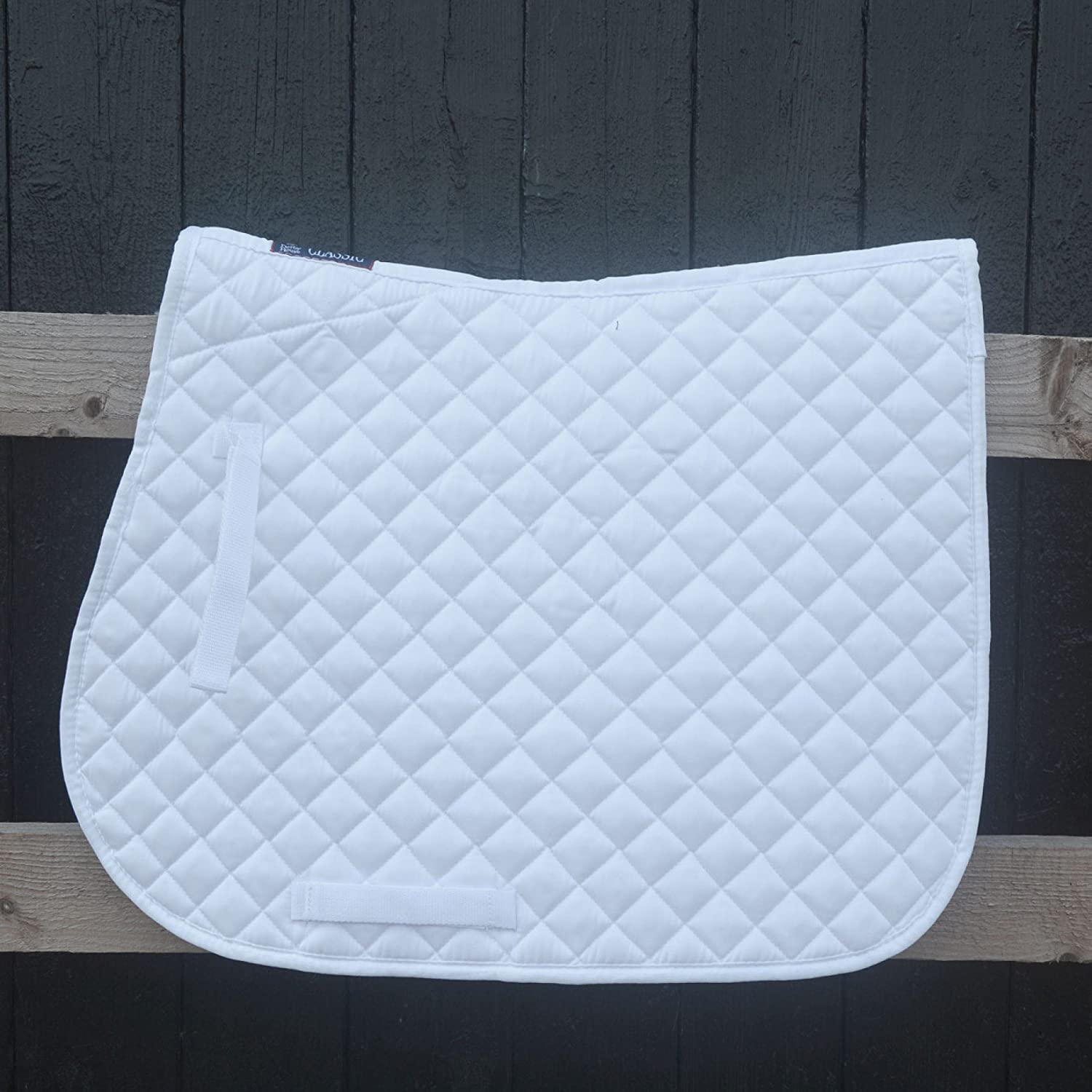 Derby House Classic Numnah Pony White