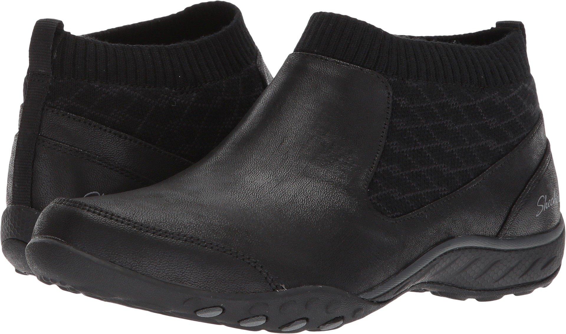 Skechers Sport Women's Breathe Easy Declare Sneaker,Black,8.5 M US