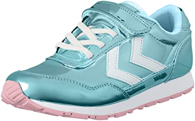 official photos 4b321 c78f2 Hummel Unisex-Kinder Reflex Bubblegum Jr Sneaker