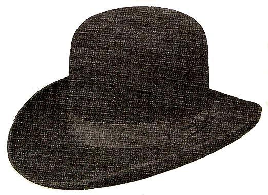 70a426db Stetson Cowboy Hat 4X Buffalo Fur Felt Black Bat Master at Amazon ...