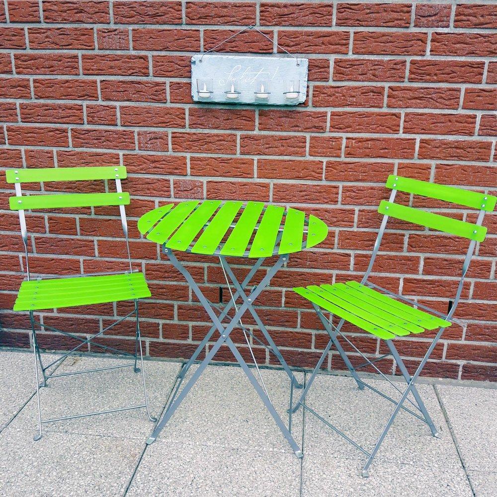 Balkonmöbel Klappbar Sitzgruppe Mit Tisch Und Wahlweise