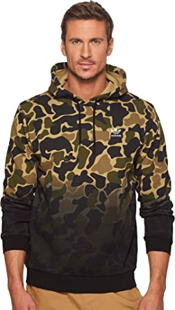 bf4c55477067 adidas Originals Mens Trefoil Hoodie Long Sleeve Hooded Sweatshirt - Black  -  Amazon.co.uk  Clothing