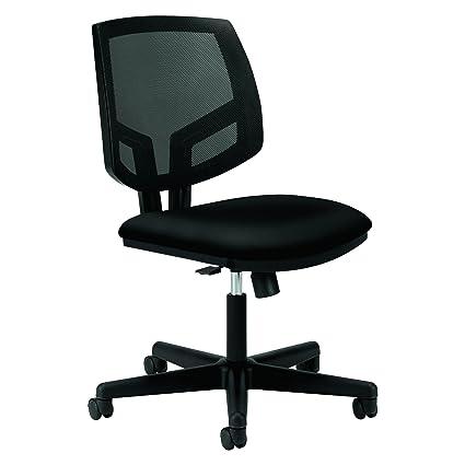 Superieur HON Volt Upholstered Task Chair   Mesh Back Computer Chair For Office Desk,  Black (