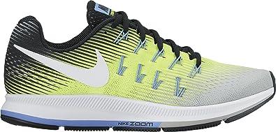 92bb8f53f2 Nike Damen Wmns Air Zoom Pegasus 33 Laufschuhe, Gelb (Matte Silver/volt/