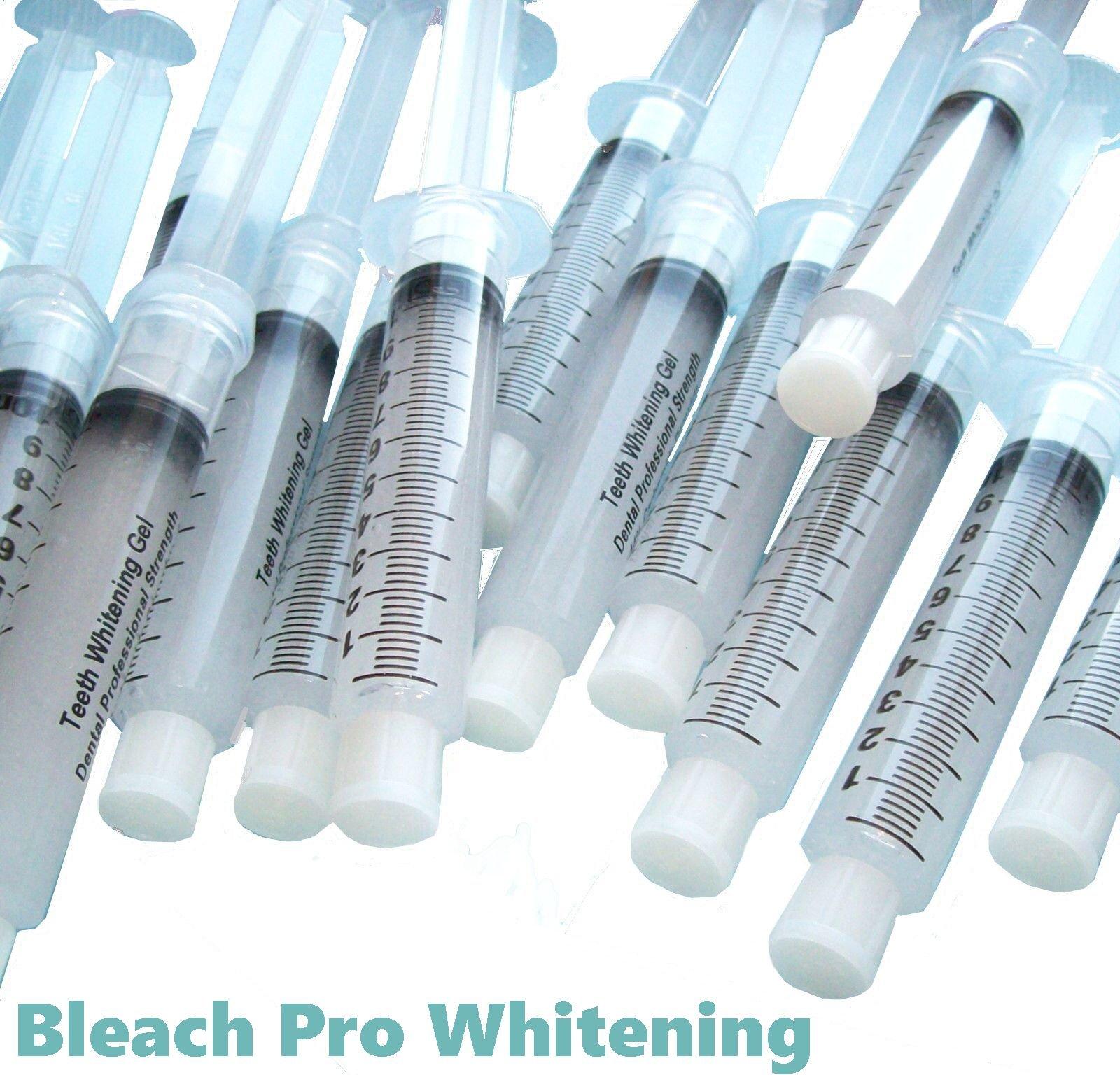 50 Teeth Whitening Gel 22% Carbamide Peroxide 10ml Syringes