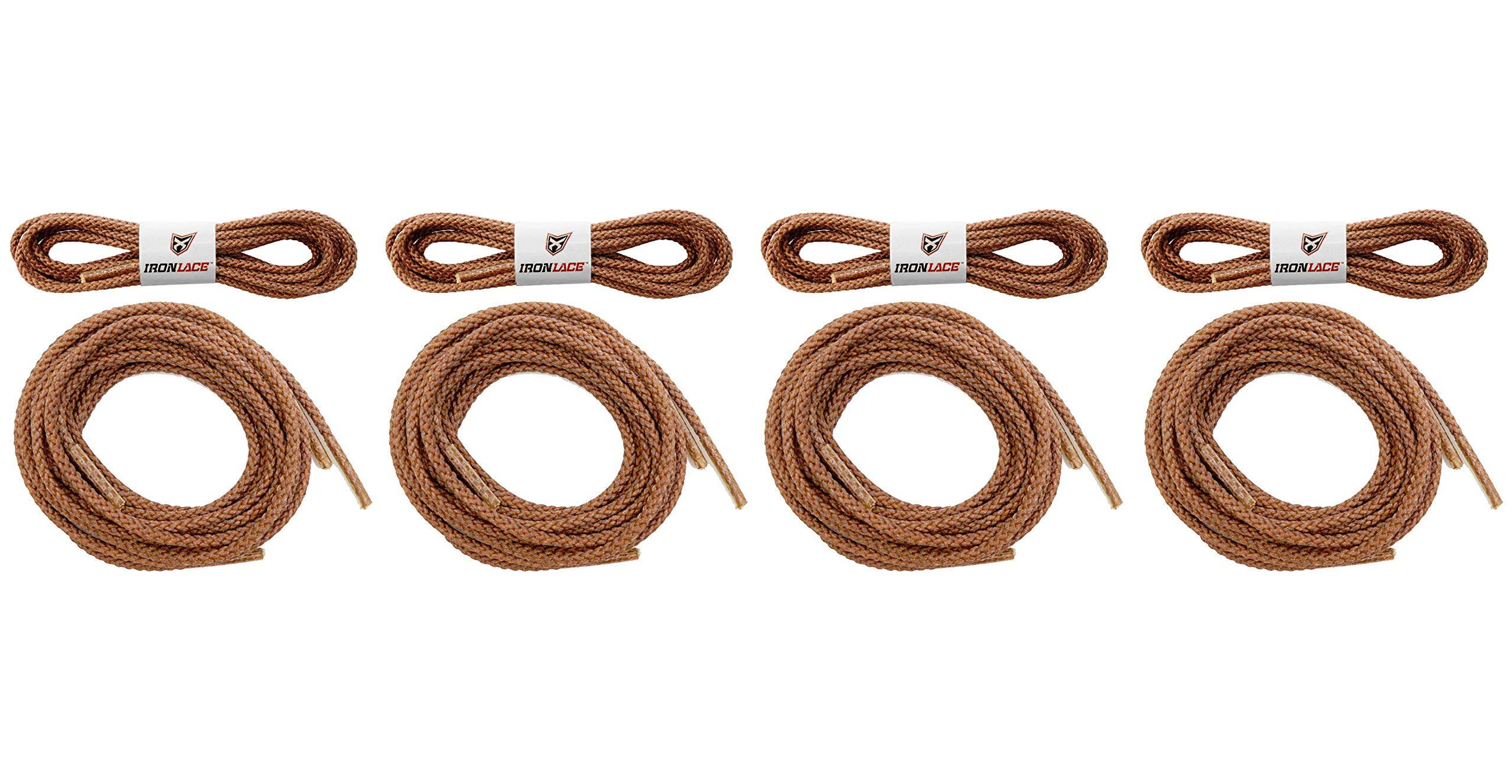 Unbreakable Extra Heavy Duty Round Boot Laces Shoelaces 63'' (Fоur Расk)