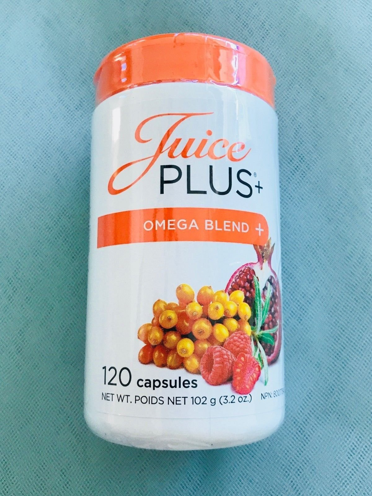 Juice Plus+ 4 Month Supply OMEGA BLEND CAPSULES - 2 bottles - 120 each