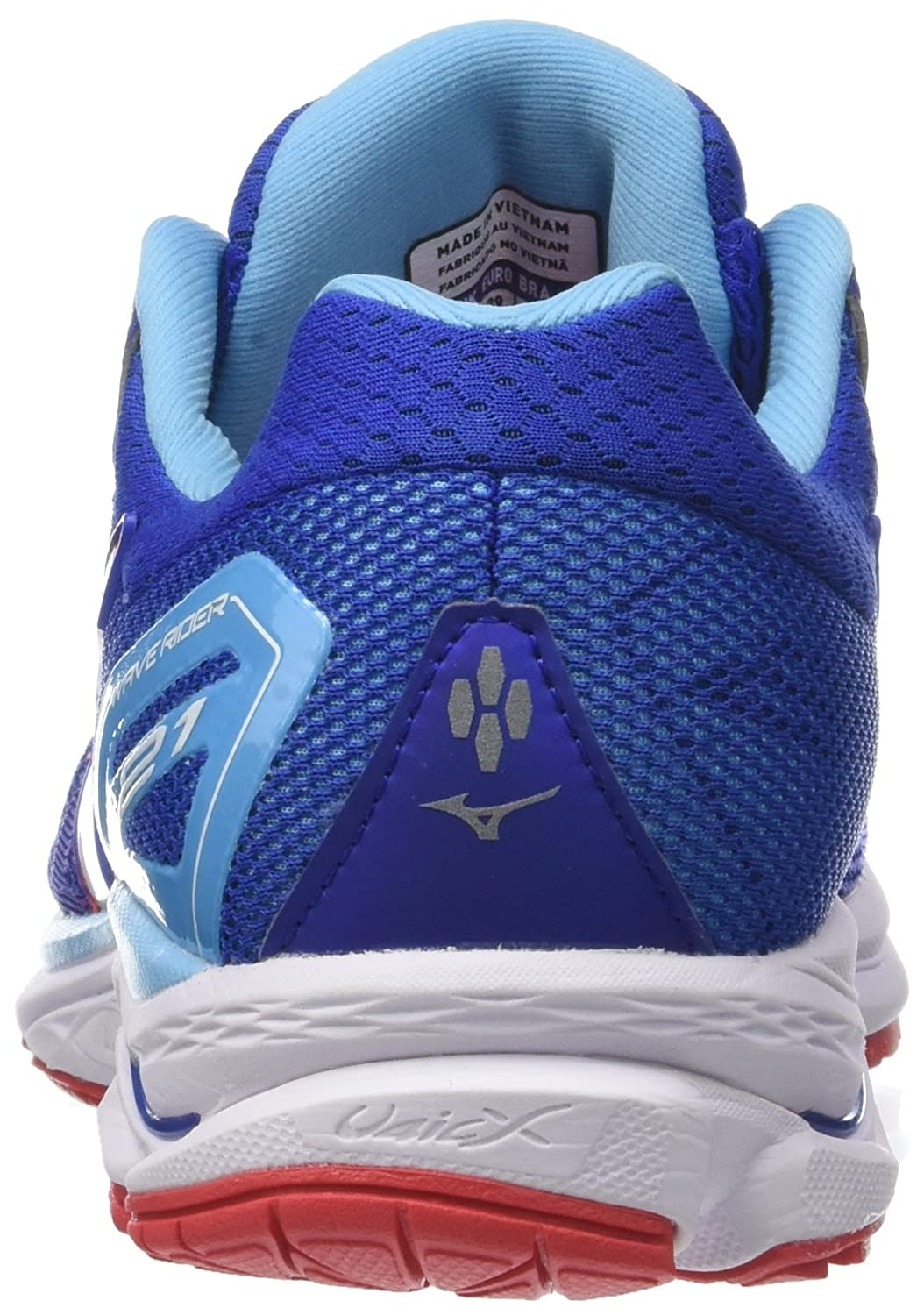 new products fdec9 54a78 Mizuno Men s Wave Rider 21 Running Shoes  Amazon.co.uk  Shoes   Bags