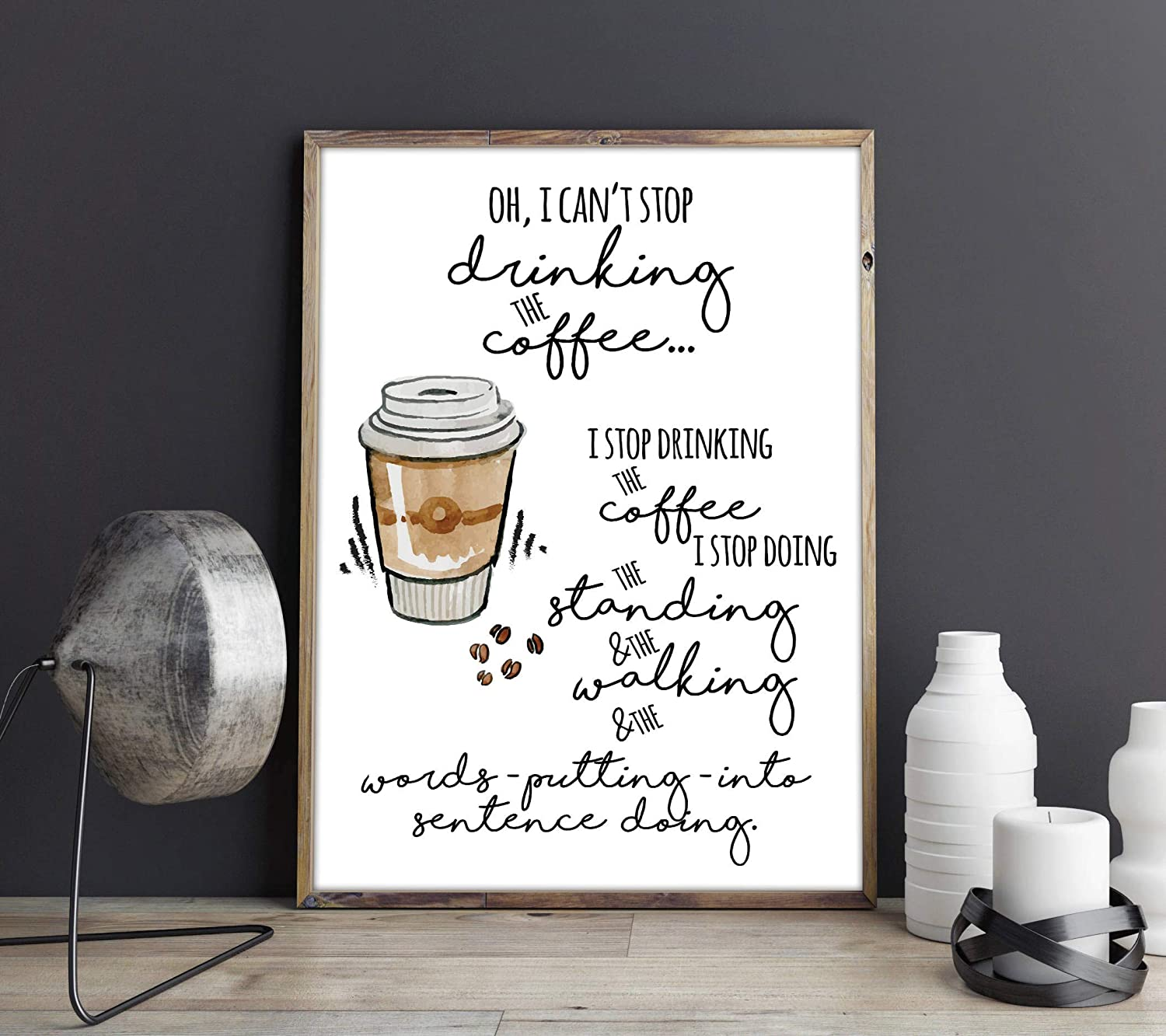 Amazon.com: Oh I Can\'t Stop Drinking The Coffee Lorelai ...