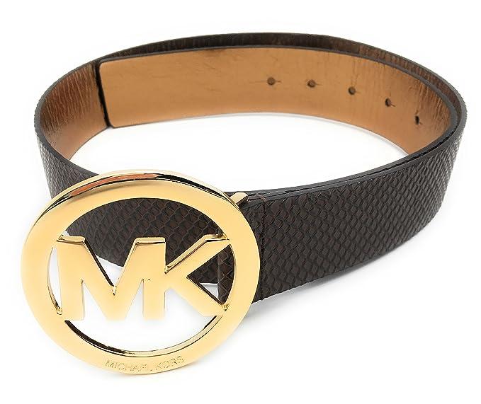 codice coupon arrivo sezione speciale Michael Kors Cintura, Marrone, da donna, taglia S, lunghezza 95 cm ...