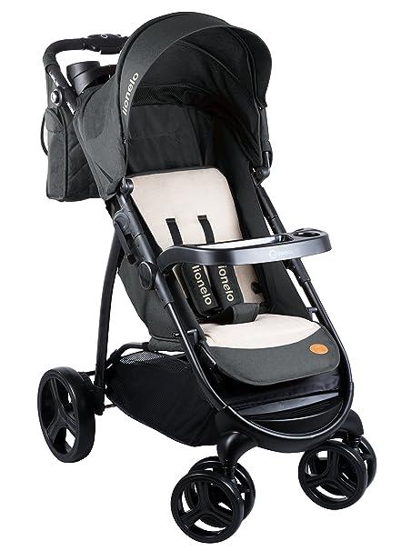 lionelo Elise silla de paseo, Oscuro/Gris: Amazon.es: Bebé
