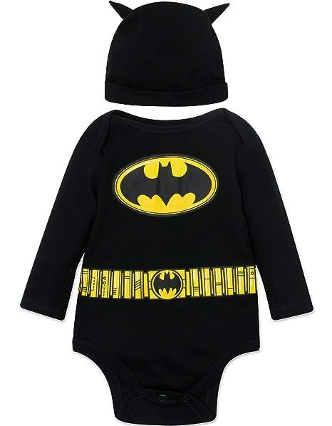 Amazon.com: Batman - Disfraz de bebé de manga larga y ...