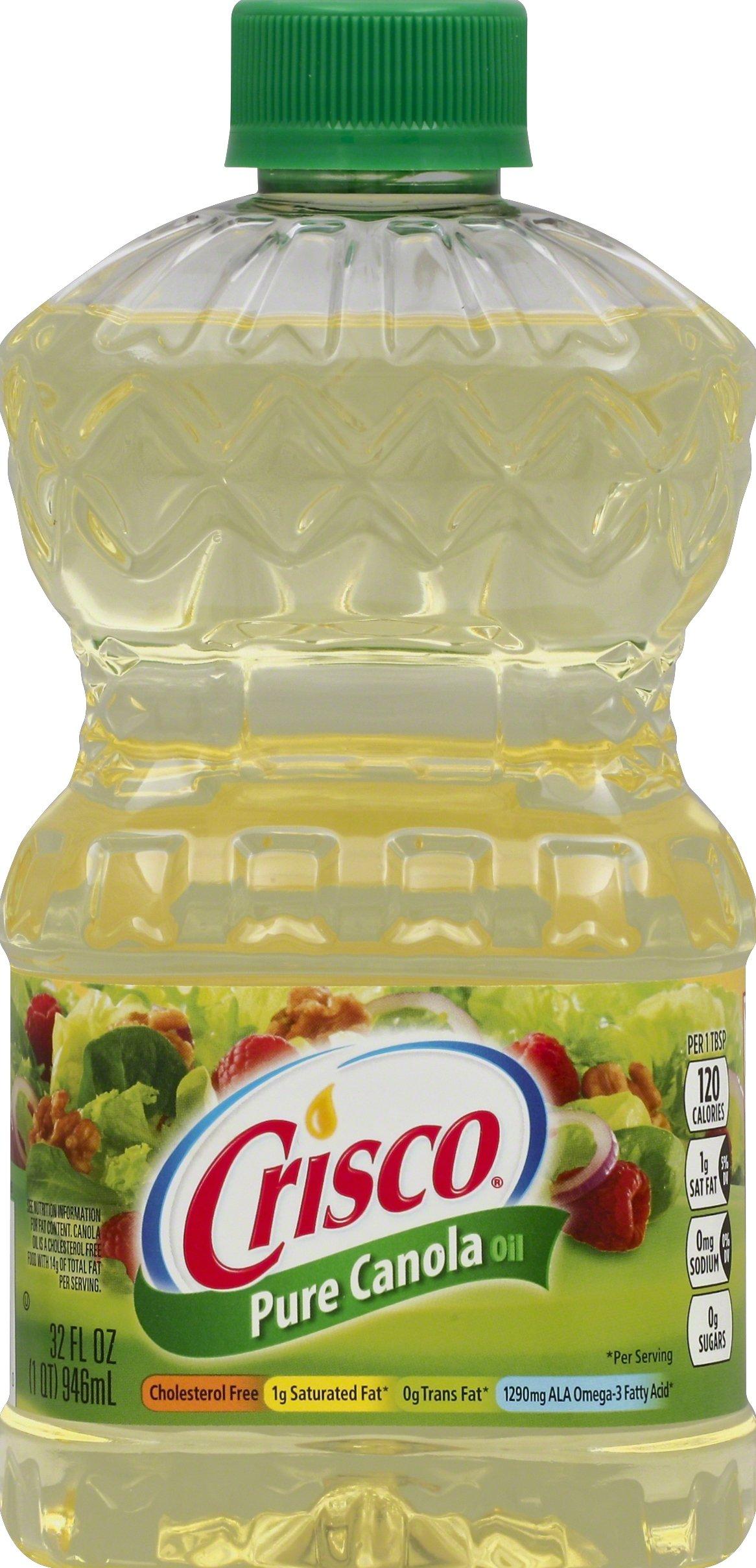 Crisco Pure Canola Oil, 32 Ounce