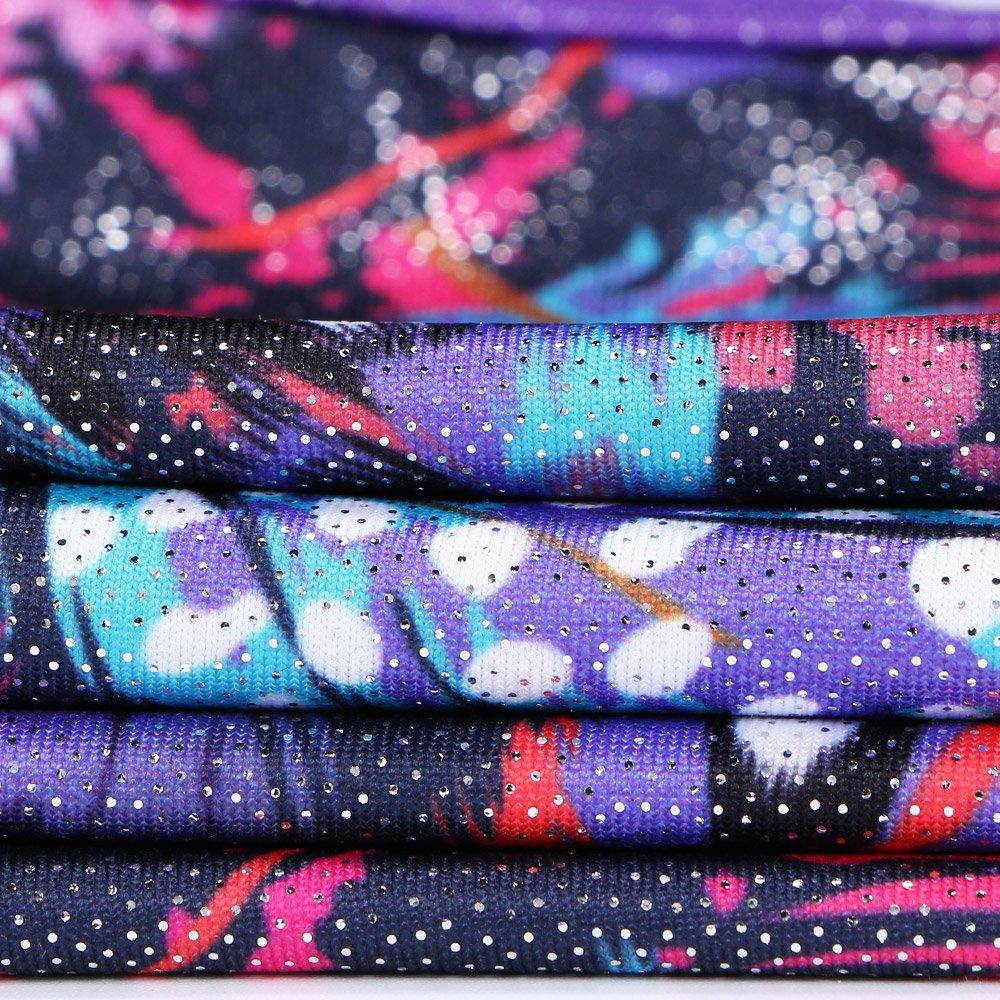 da0d80744 Sparkle Leotard for Toddler Girls Gymnastics Shiny Athletic Dance ...