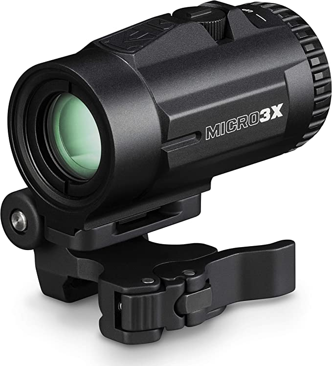 Amazon.com : Vortex Optics Micro 3X Red Dot Sight Magnifier with Quick-Release Mount, Black : Sports & Outdoors