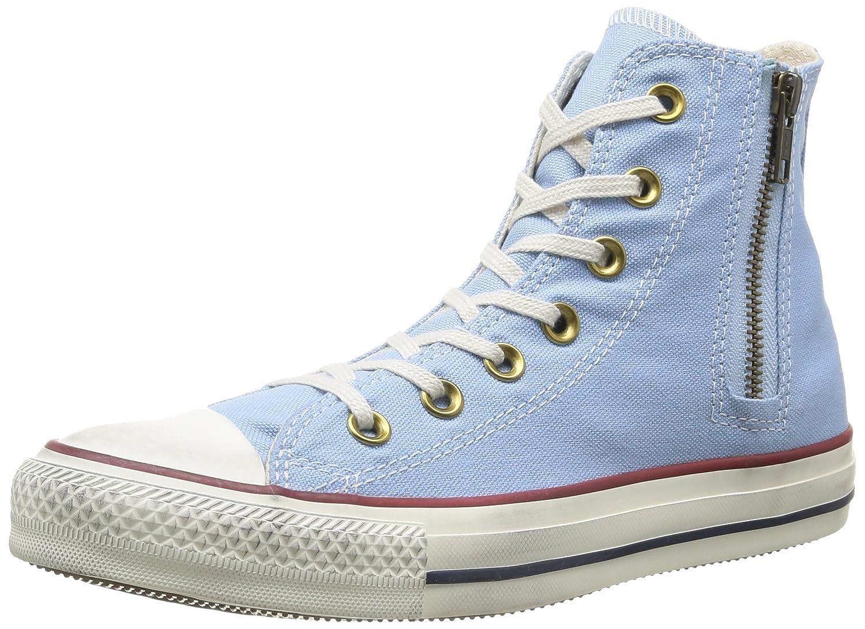 Converse All Star Hi Side Zip Canvas - Botines Mujer38 EU|Azul (Jp Blue)
