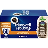Maxwell House House Blend Coffee 100% Compostable Pods, 60 Pods