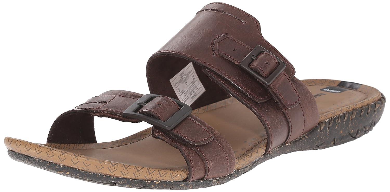 Merrell Women's Whisper Slide Slide Sandal B00YDKEDXI 7 B(M) US|Brown