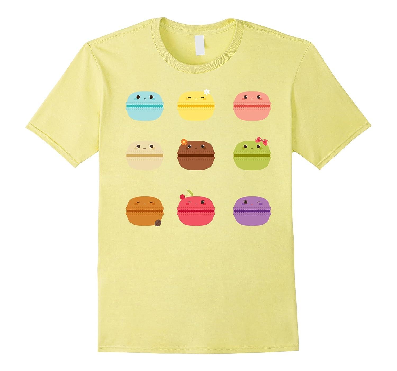 b7dfdb9a6 Yummy Cute Multicolor Macaron T-Shirt-RT – Rateeshirt