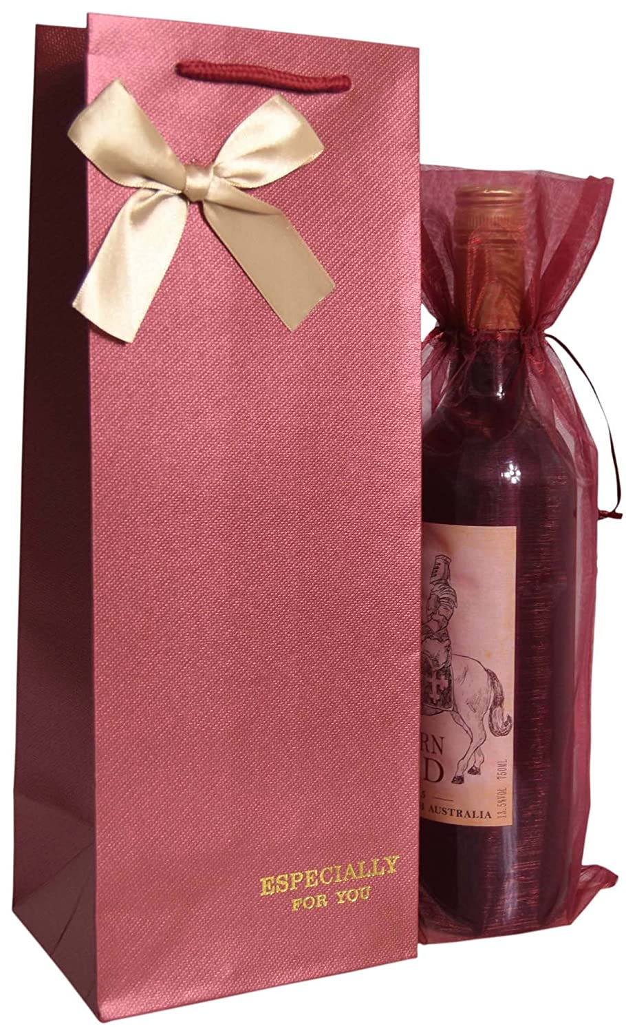 Amazon.com: Zealax Wine Gift Bags - Especially for You - 6 Pcs ...