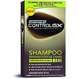 Just For Men Control GX Shampoo Desvanecedor Progresivo de Canas, Cubre Gradualmente las Canas, 147 ml