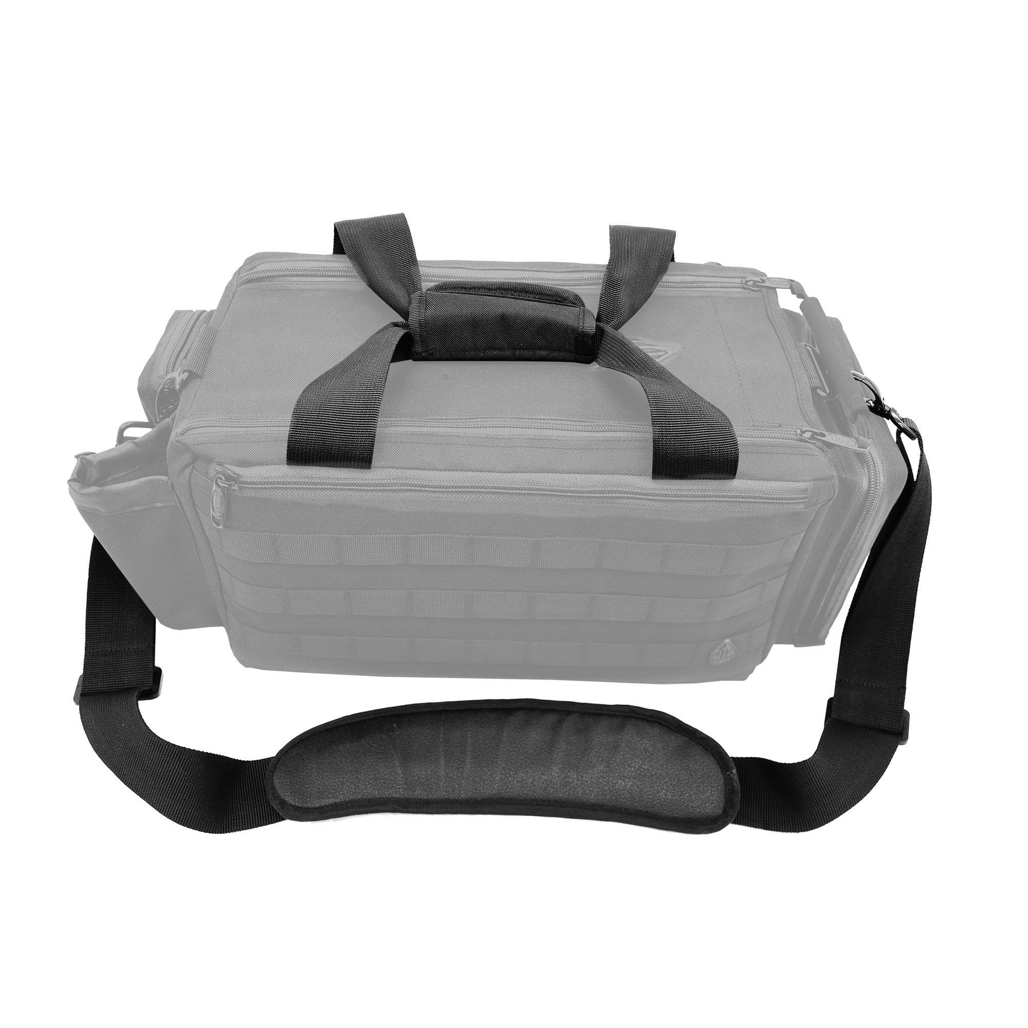 UTG All in One Range/Utility Go Bag, Black, 21'' x 10'' x 9'' by UTG (Image #12)