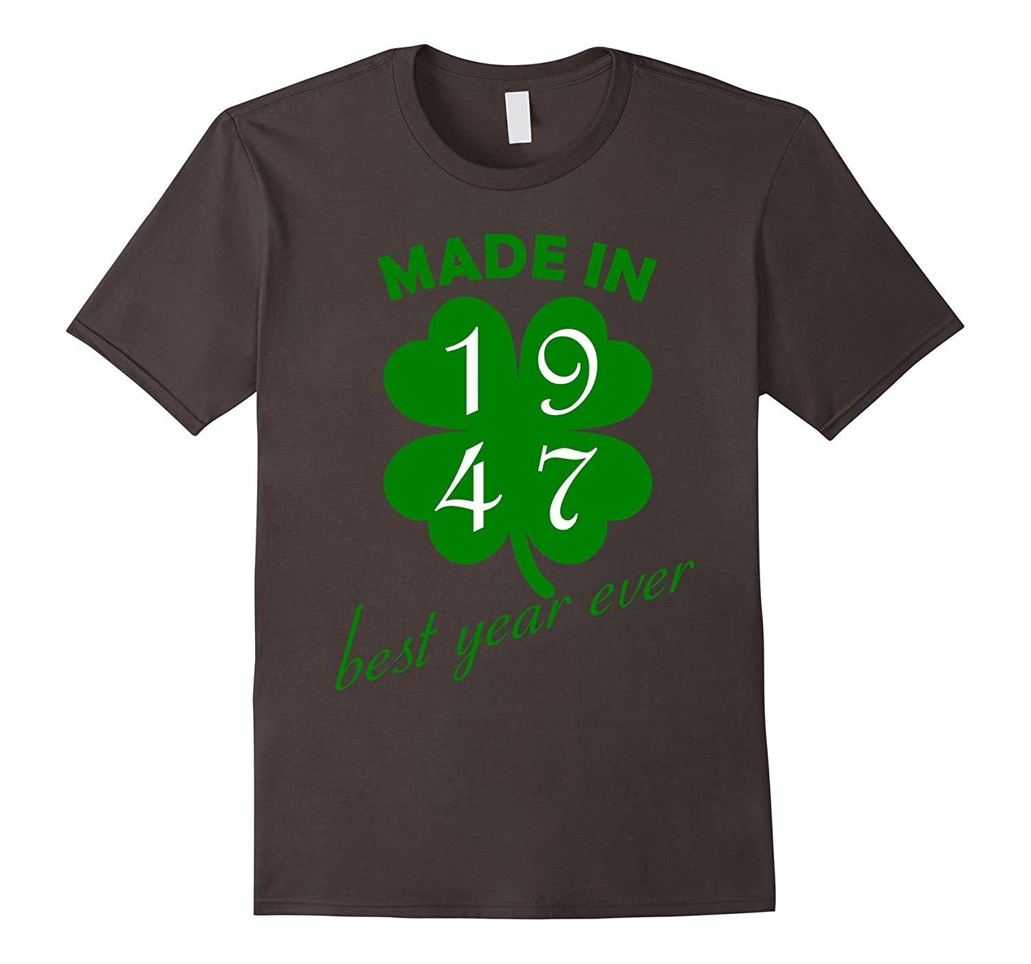 70th Birthday Vintage Made in 1947 Gift ideas Man T shirt-BN