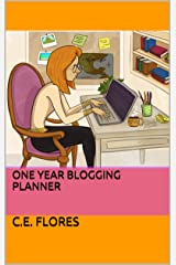 One Year Blogging Planner Kindle Edition