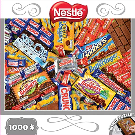 MasterPieces Candy Brands Nestle Jigsaw Puzzle, 1000-Piece