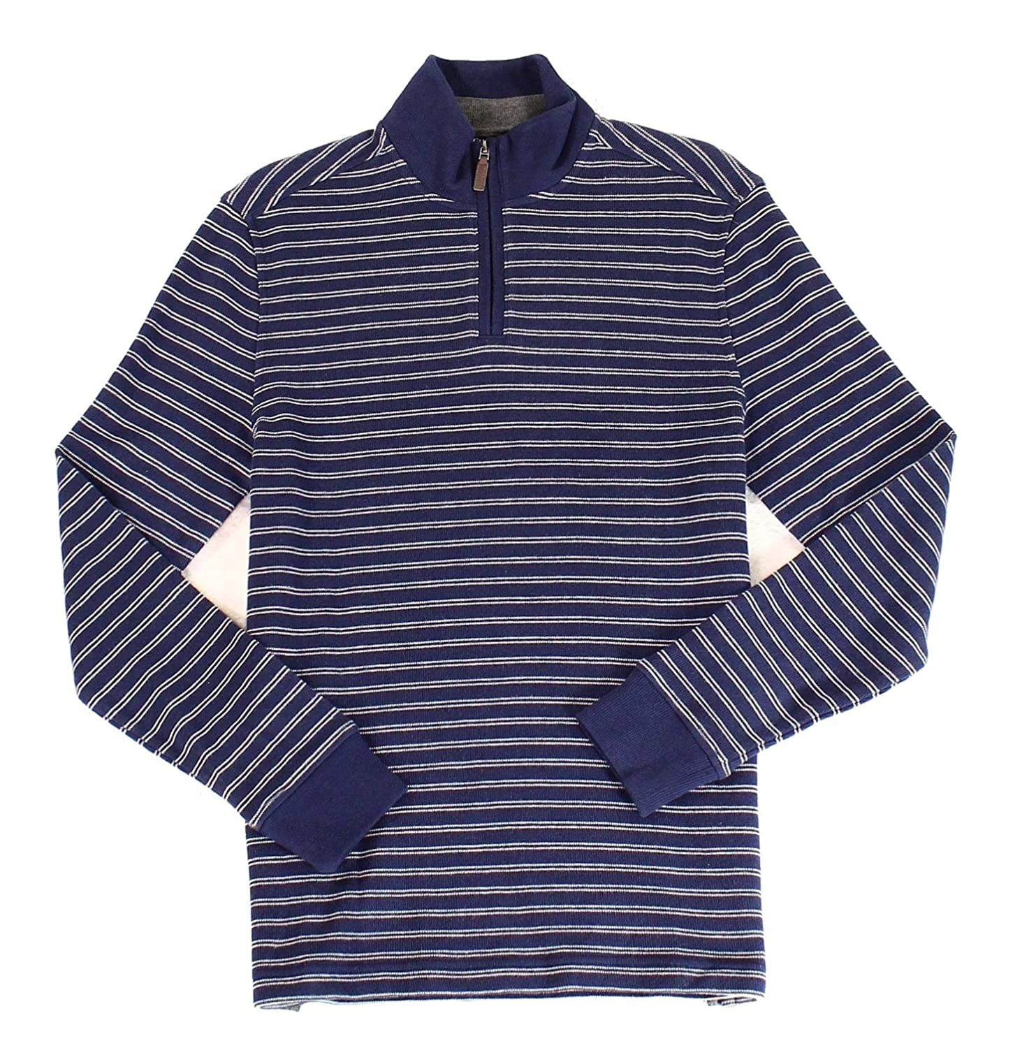 Club Room Mens Striped Knit Pullover Sweater