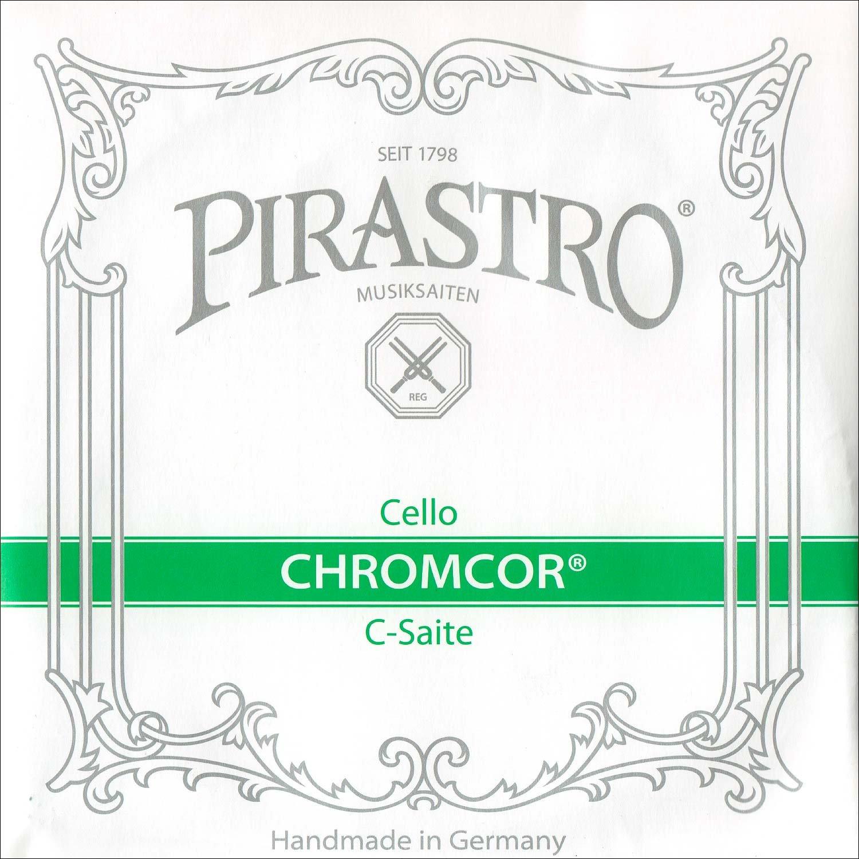 Pirastro Chromcor 4/4 Cello C String - Chromesteel/Steel - Medium Gauge