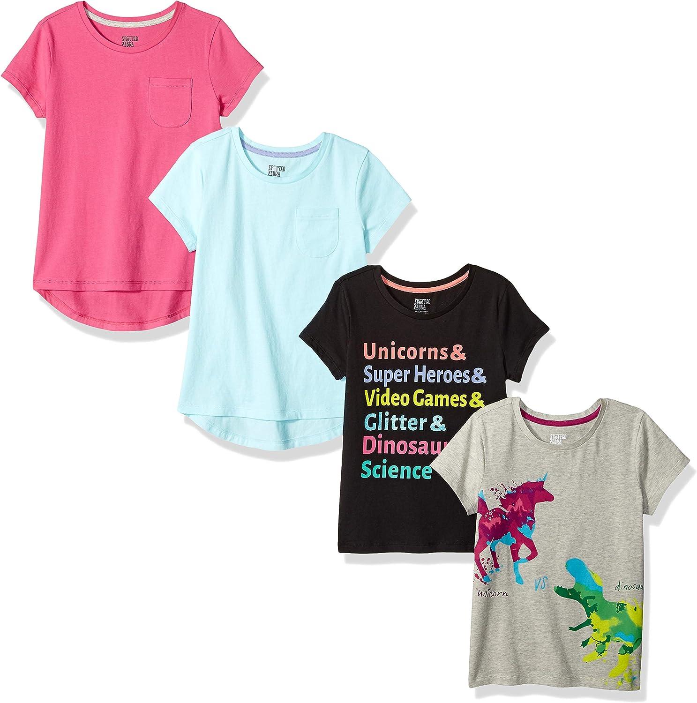 Pacco da 4 Spotted Zebra 4-Pack Short-Sleeve T-Shirts Bambina Marchio