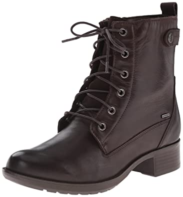 Cobb Hill Rockport Women's Carrie Waterproof Boot, Brown, ...