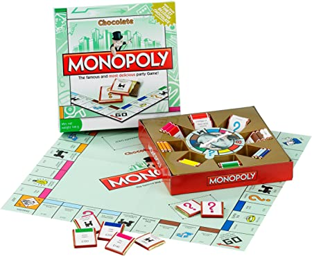 Games for Motion Monopoly with Chocolate Pieces 160 g: Amazon.es: Electrónica