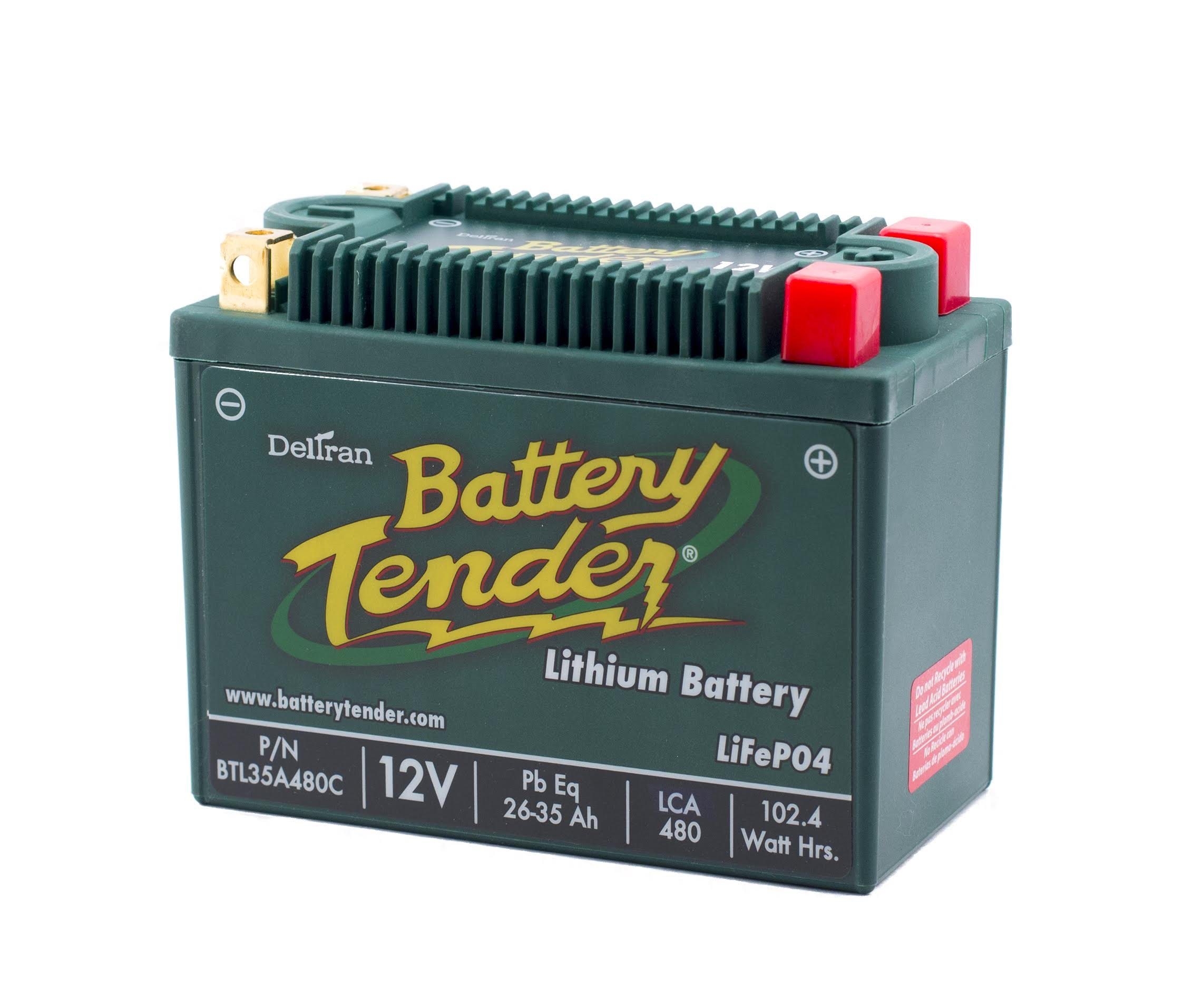 Best RV Battery: Battery Tender BTL35A480C Lithium Iron Phosphate Battery