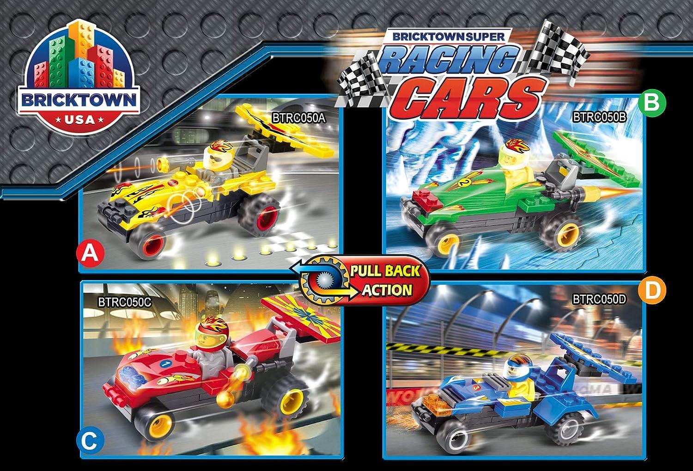 Green Super Racing Car Bricktown USA