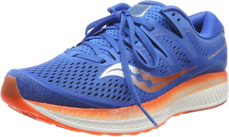 Saucony Triumph ISO Pour Femme Chaussures De Course-Bleu