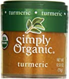Simply Organic, Mini Ground Turmeric, .53 oz