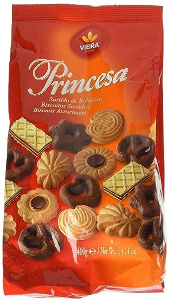 Assortiment de Biscuits Princesa Vieira de Castro 400 g - Lot de 6 ... 551daf99357