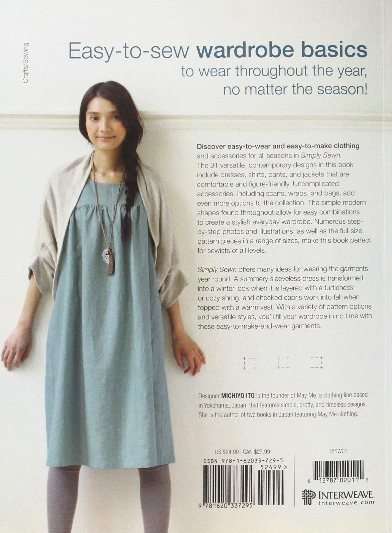 Simply Sewn: Clothes for Every Season: Michiyo Ito: 9781620337295 ...