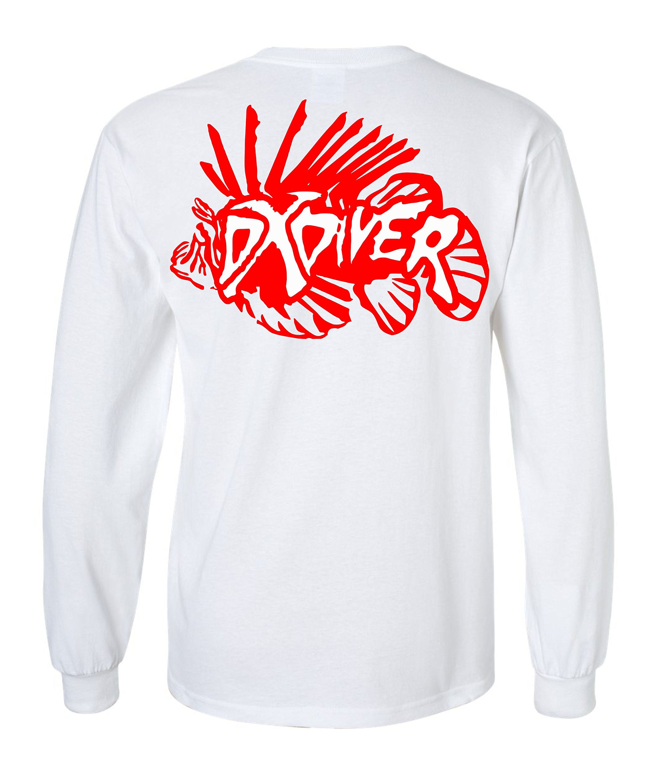 24'' Zoo Keeper Clear Lionfish Containment Unit Medium LCU-16 DXDiver Wicking Shirt Sun Protection Size Small Scuba Diving Freediving Spearfishing Longsleeve by ZooKeeper (Image #5)
