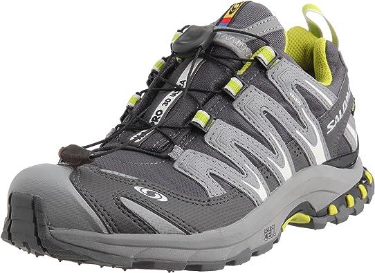 Salomon XA Pro 3D Ultra 2 GTX W 127624 – Zapatillas de Running para Mujer, Mujer, Grey-Green: Amazon.es: Deportes y aire libre