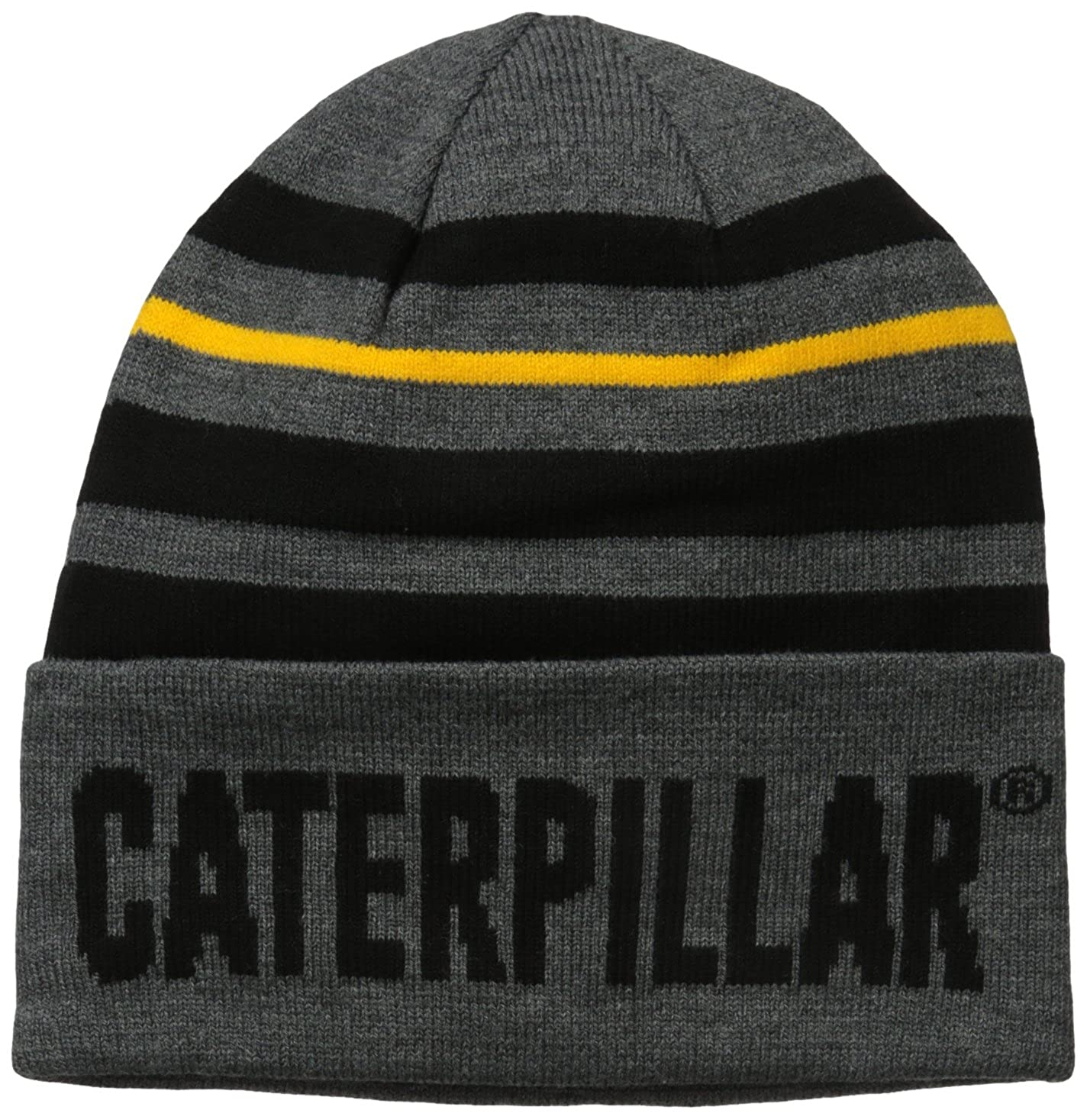 Caterpillar Men's Tumbler Knit Cap Dark Heather Grey One Size 1120030