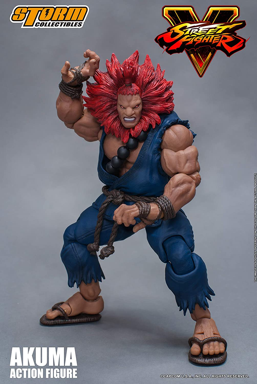 Storm Collectibles Street Fighter V 1//12 Akuma Action Figure Storm Collectables STM87041 Action Figures