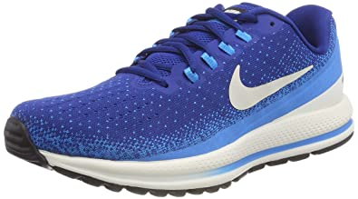 best service d4868 246fb Nike Herren Air Zoom Vomero 13 Fitnessschuhe, Mehrfarbig (Gym Light  Bone/Blue Hero