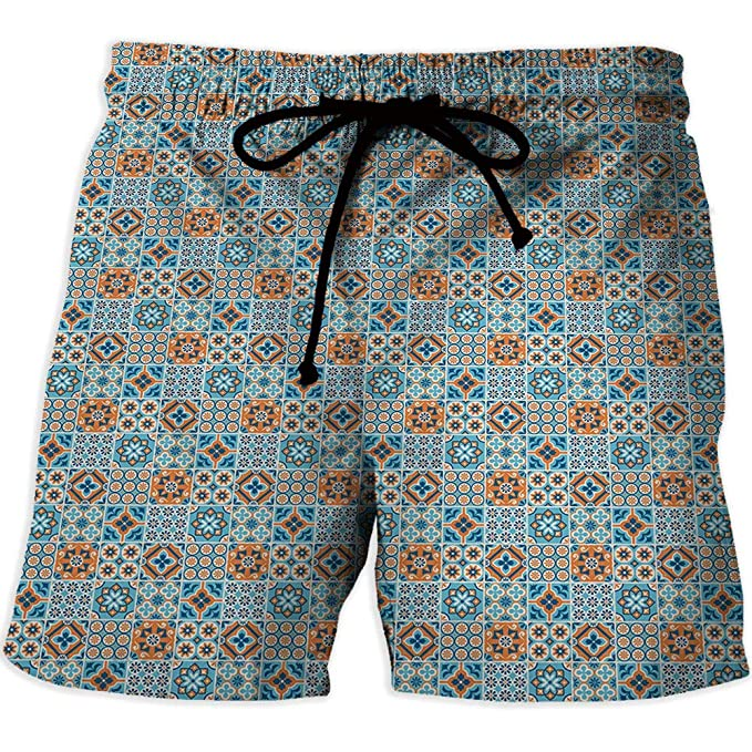 de69a63a41 Image Unavailable. Image not available for. Color: Men Swimwear Swimsuits  Swim Beach Board Surf Shorts Quick Drying Trunks,Nautica