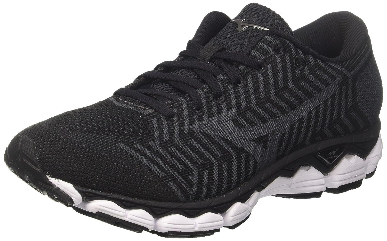 Mizuno Waveknit S1, Zapatillas de Running para Hombre 40.5 EU|Multicolor (Black/Black/Darkshadow 09)