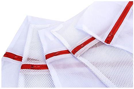 Amazon.com: Bolsas de malla para lavar ropas delicadas y ...