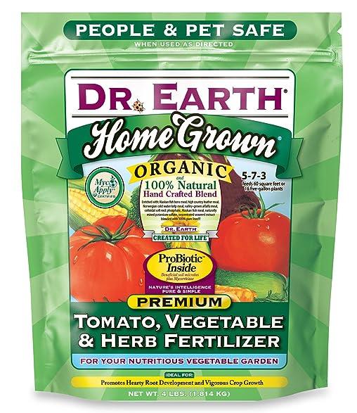 Amazoncom Dr Earth Organic 5 Tomato Vegetable Herb